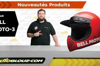 Casque Bell Moto 3, vidéo de présentation Motoblouz