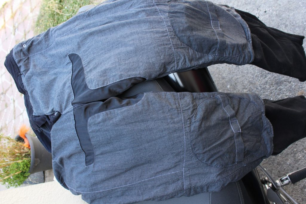 Doublure Kevlar et coton jean moto DXR Boost