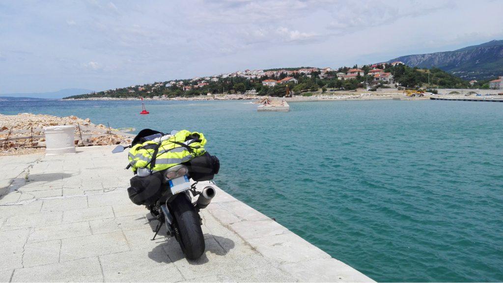 ZX6R Metzeler M7RR Road Trip Croatie
