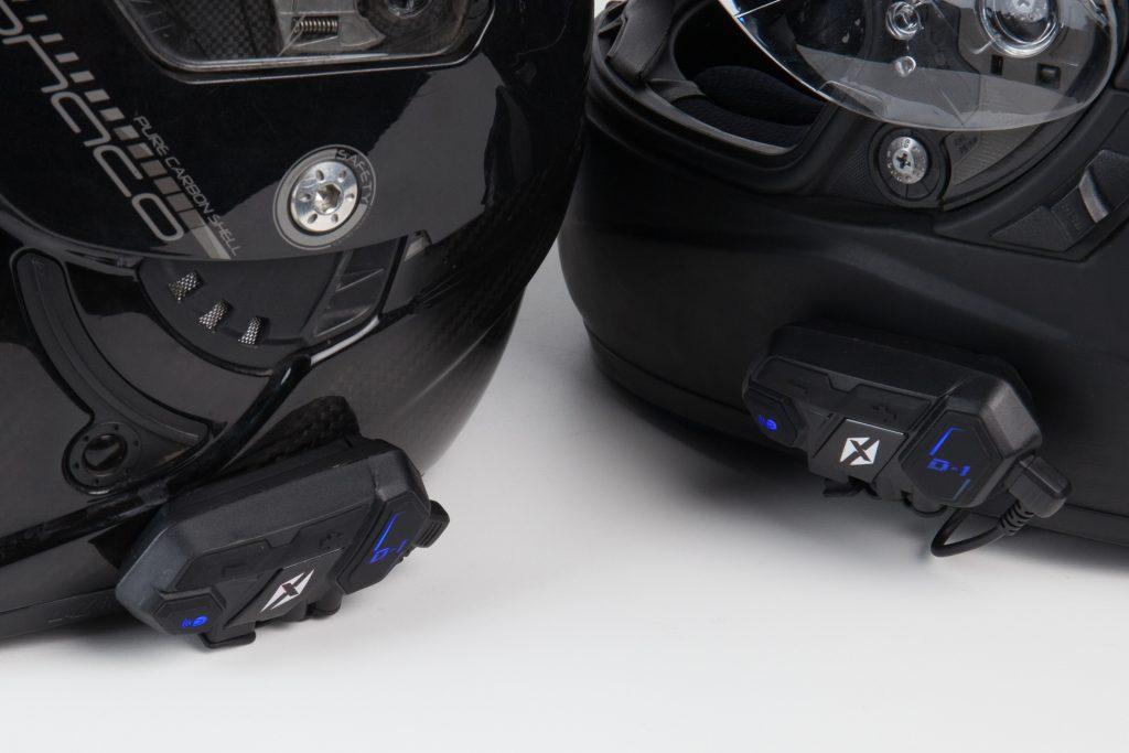 Apairage intercoms moto