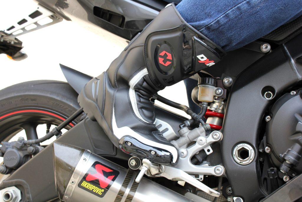 DXR Code – vue avant droite yamaha R6