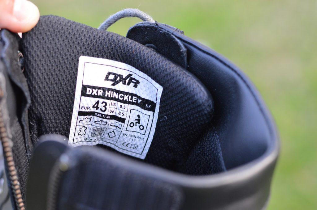 Les DXR HINCKLEY sont certifiées selon la norme EN 13634:2015