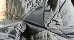 Tissu aéré à l'entrejambe