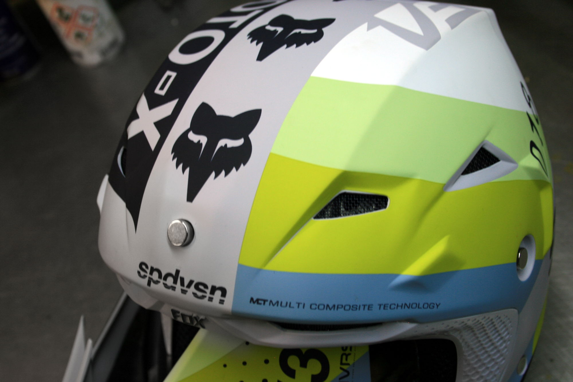 MVRS casque FOX 2018