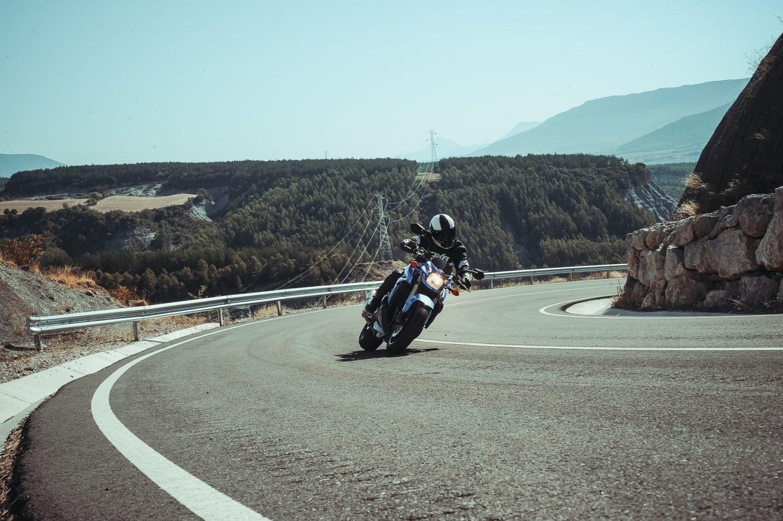 Moto en été