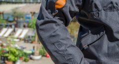 Poche ventrale et double-poche pectorale blouson DXR D-Jacket
