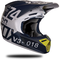 Essai casque cross Fox V3 2018