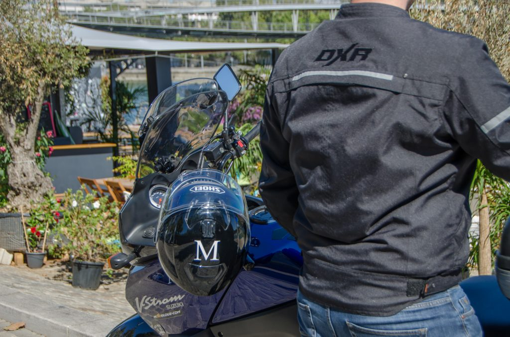 DXR D-Jacket, de dos