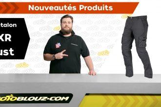 Pantalon DXR Rust, vidéo de présentation Motoblouz