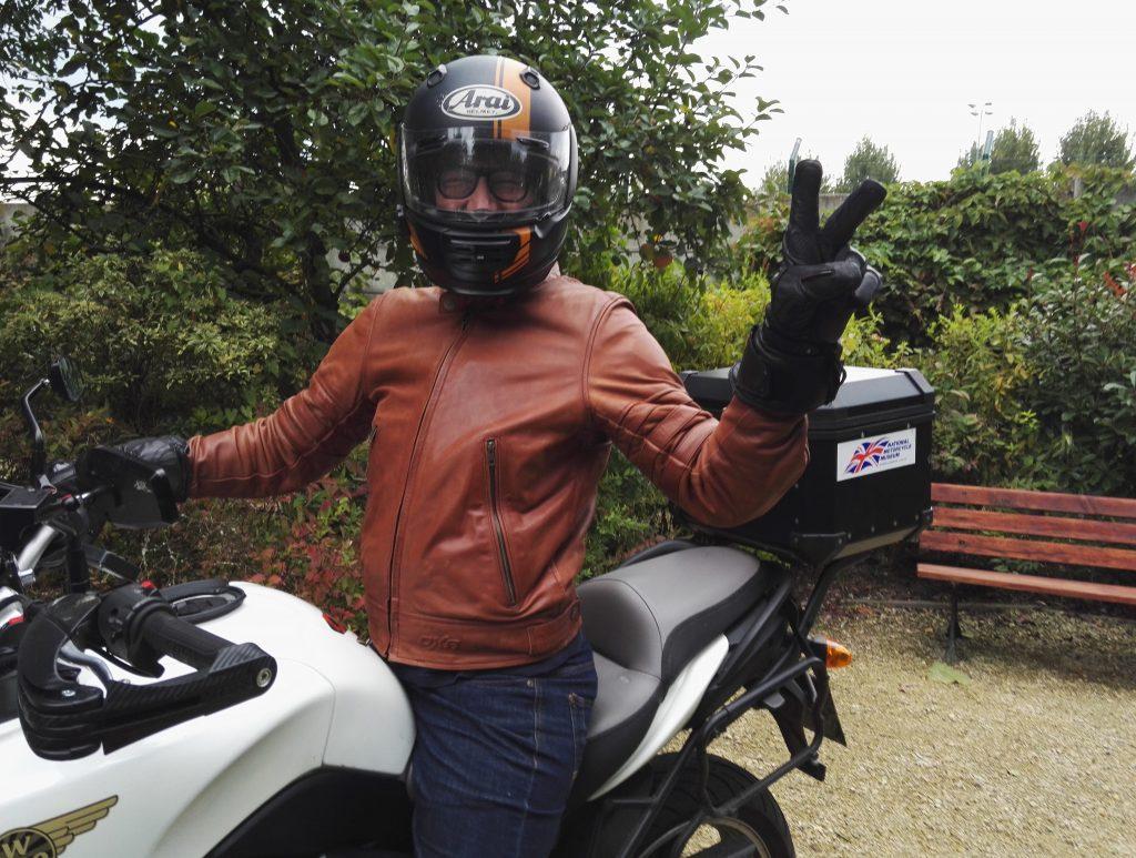 Blouson moto DXR Wilks