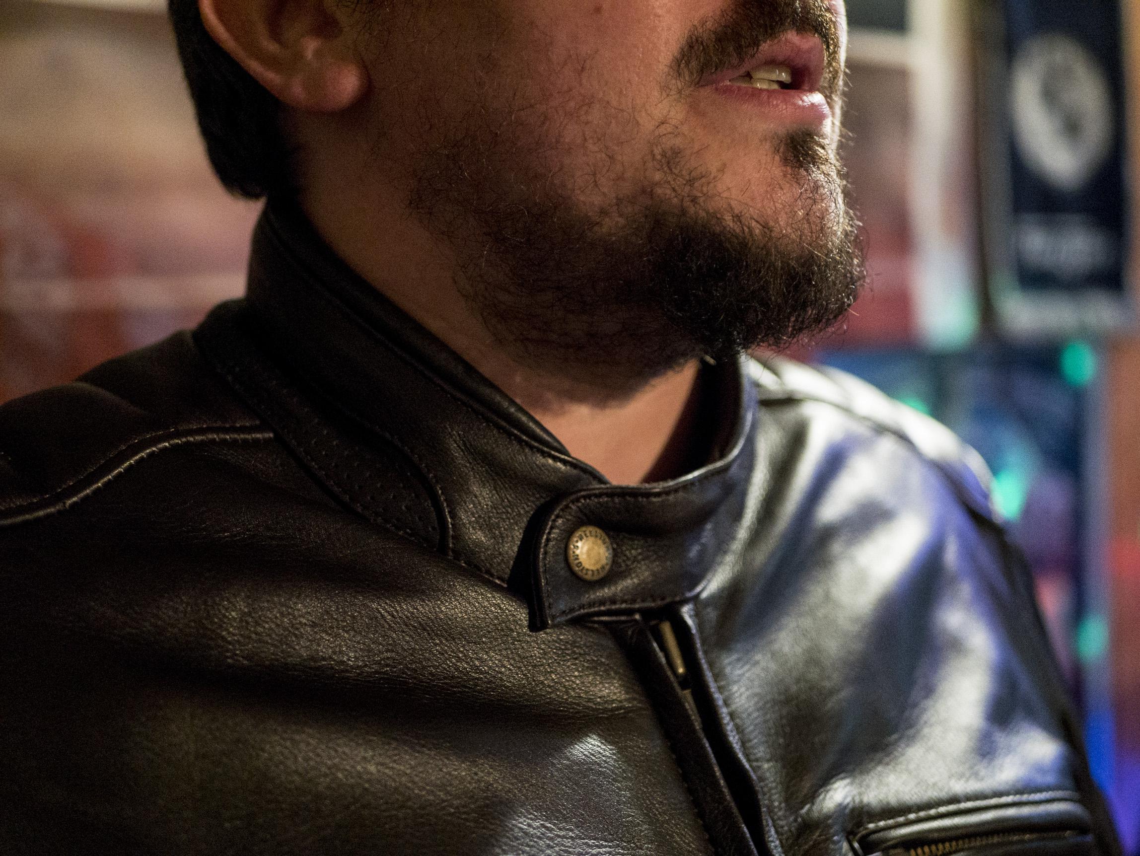 Col du Blouson Helstons Benji Fender