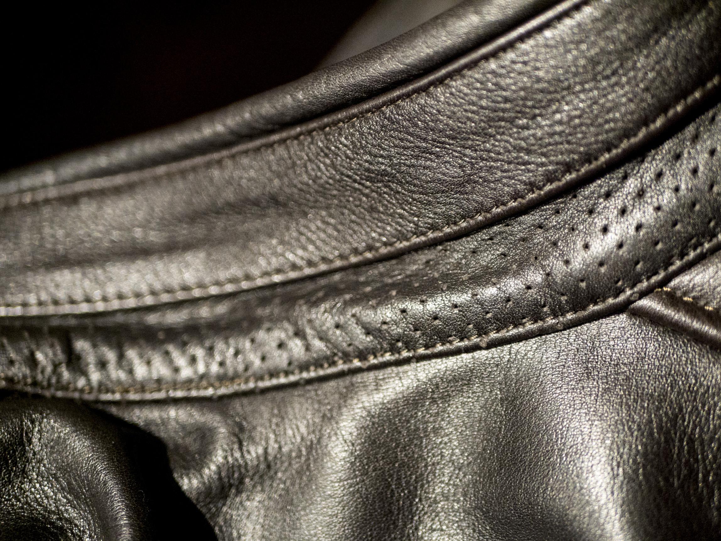 Cuir microperforé du cuir Helstsons Benji Fender