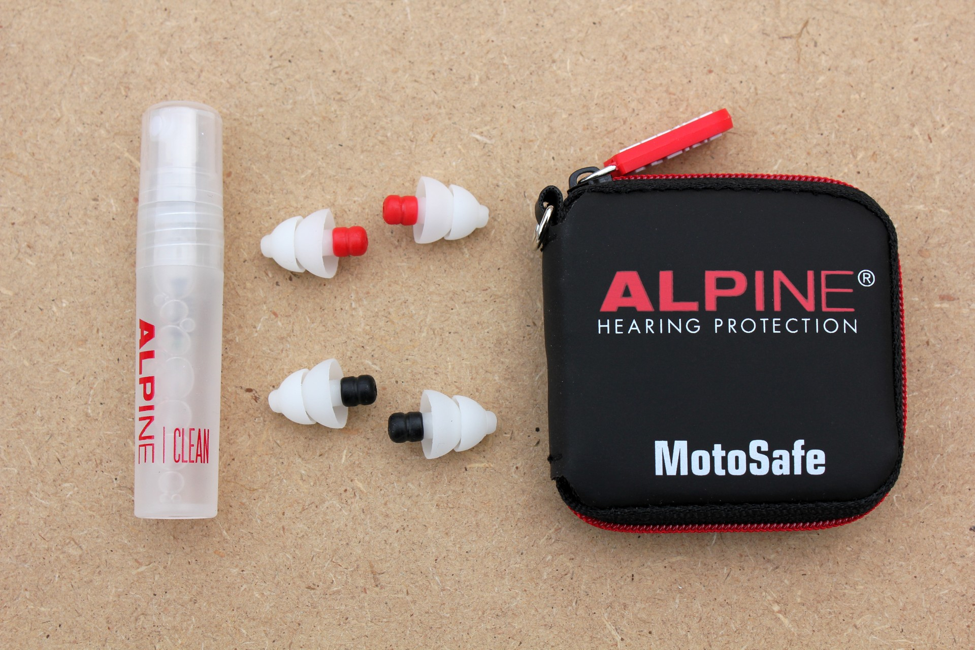 MotoSafe Pro - protections, étui et fluide de nettoyage