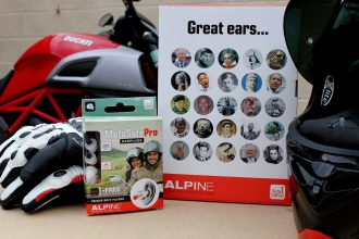 Kit de protections auditives Alpine MotoSafe Pro