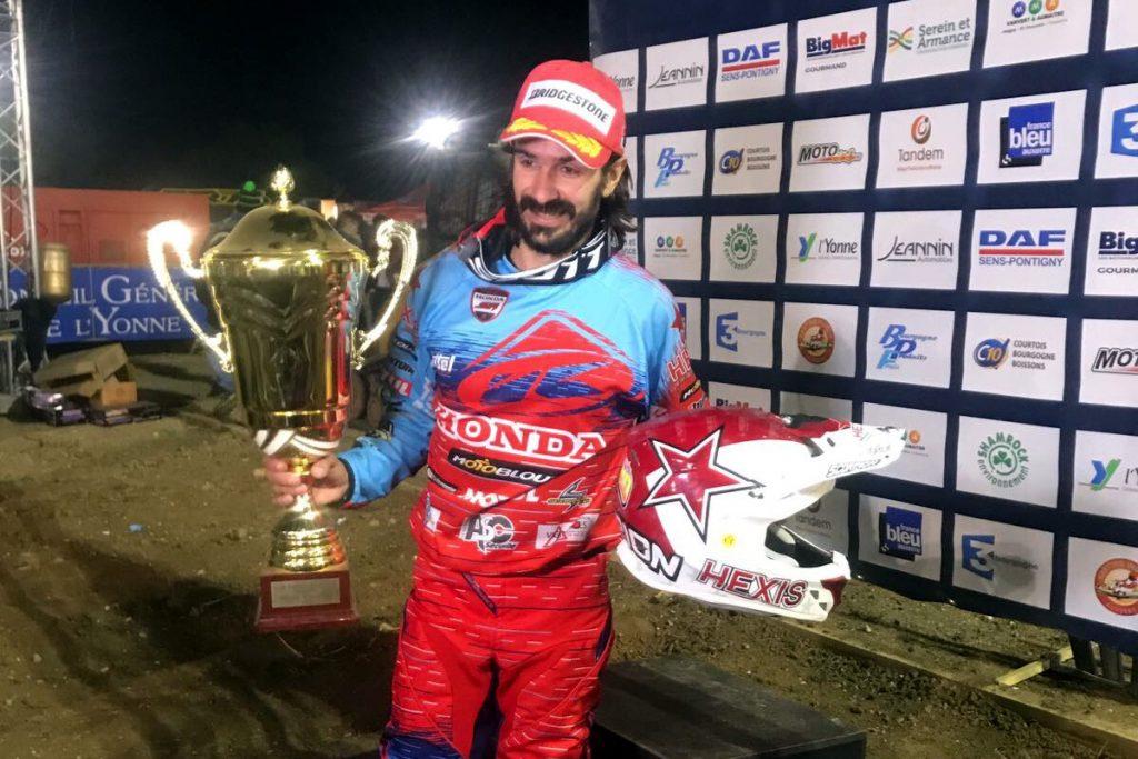 Fabien Izoird remporte la finale du Supercross de Brienon 2017 !