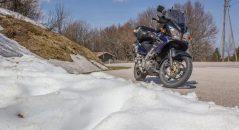 Je ne m'attendais pas à trouver de la neige au mois de mai! Route des Crêtes dans les Ballons