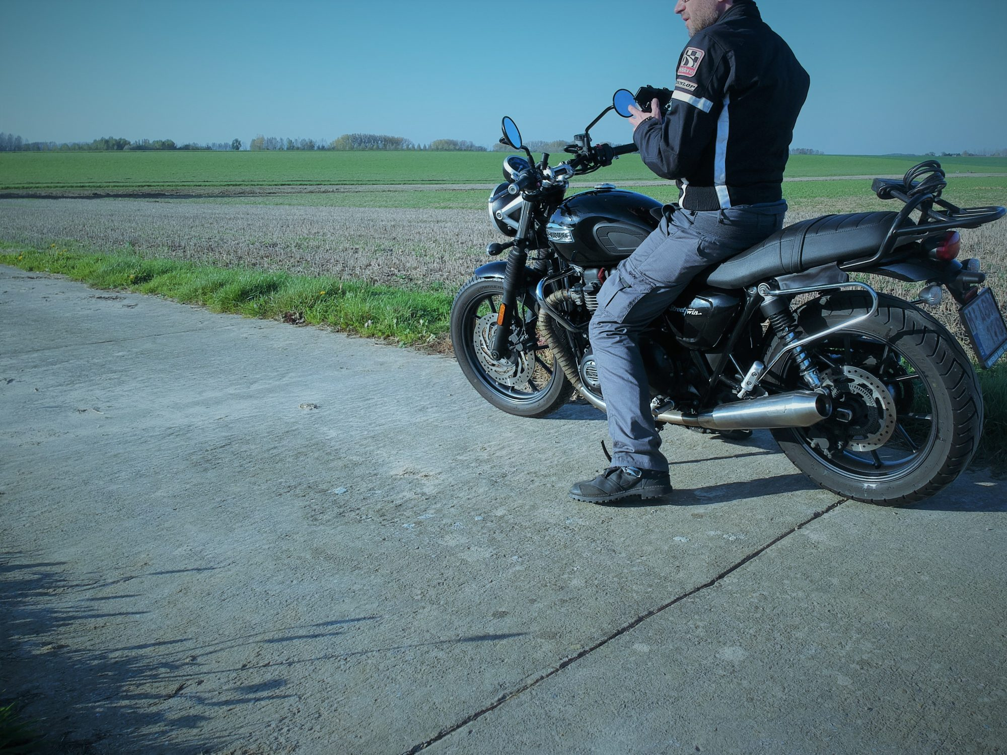 Pantalon moto DXR Rust