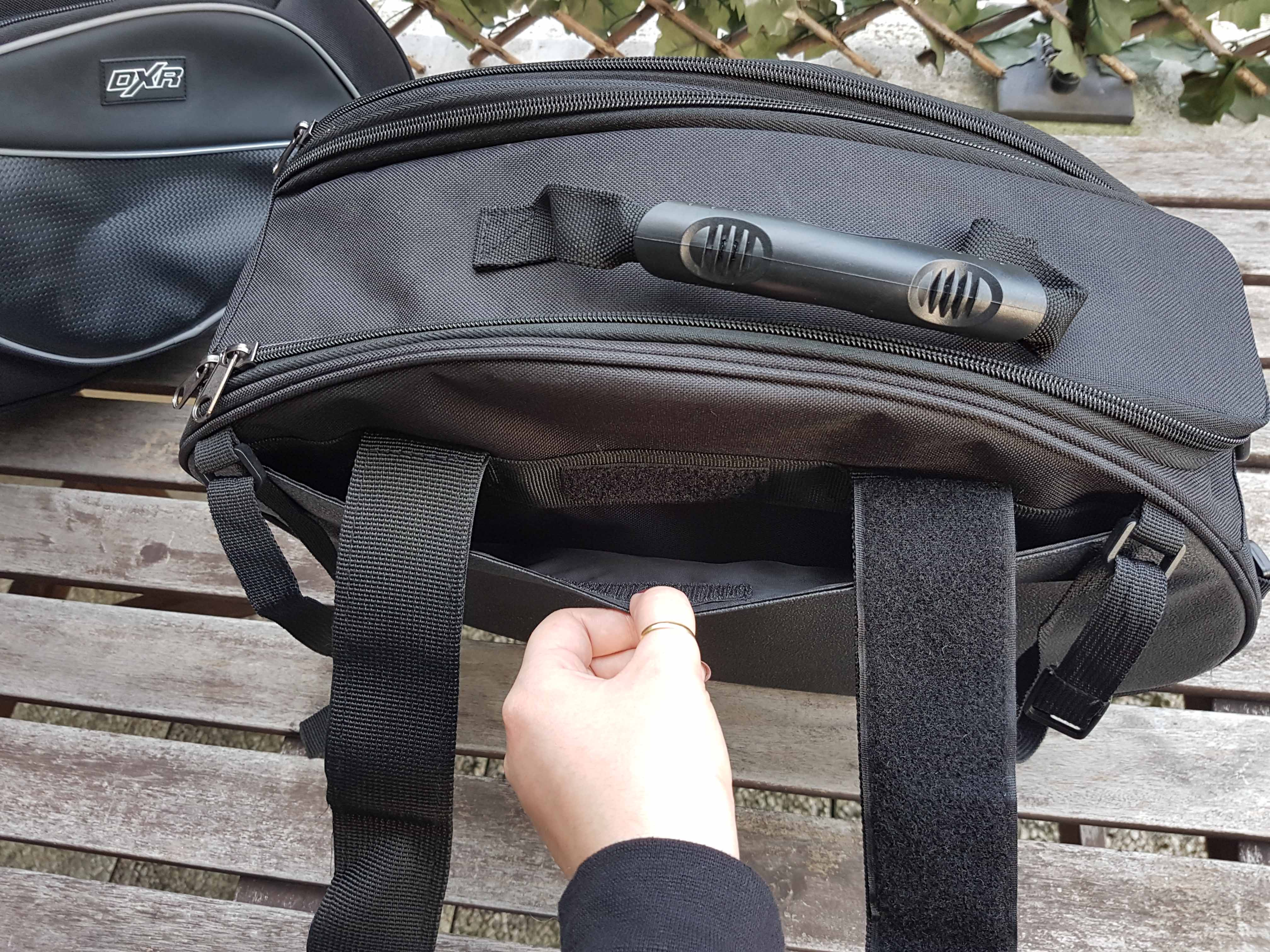 Petite poche à scratch sur les DXR CAMEL SPORT