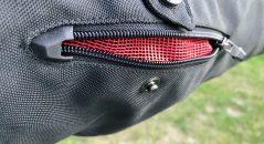 Zip ventilation bras