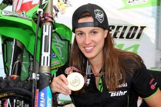 Livia Lancelot, championne de motocross féminin