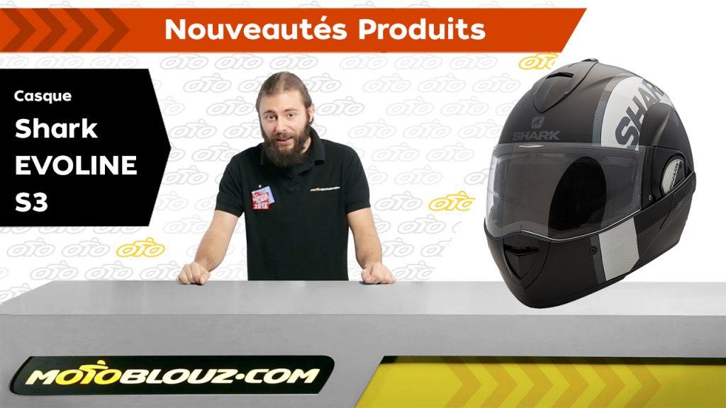 Casque Shark Evoline S3 Dual Touch, vidéo de présentation Motoblouz