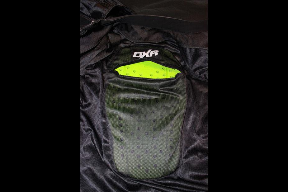 Plaque dorsale du blouson de moto roadster pour femme Diva Racer de DXR