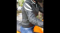 Blouson Diva Racer de DXR de profil