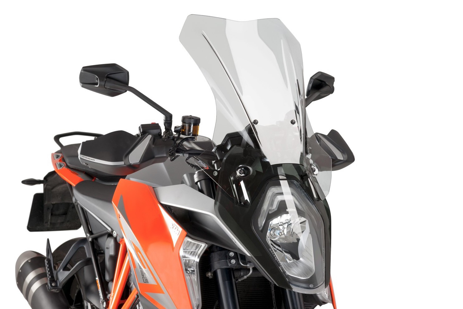 Bulle haute moto