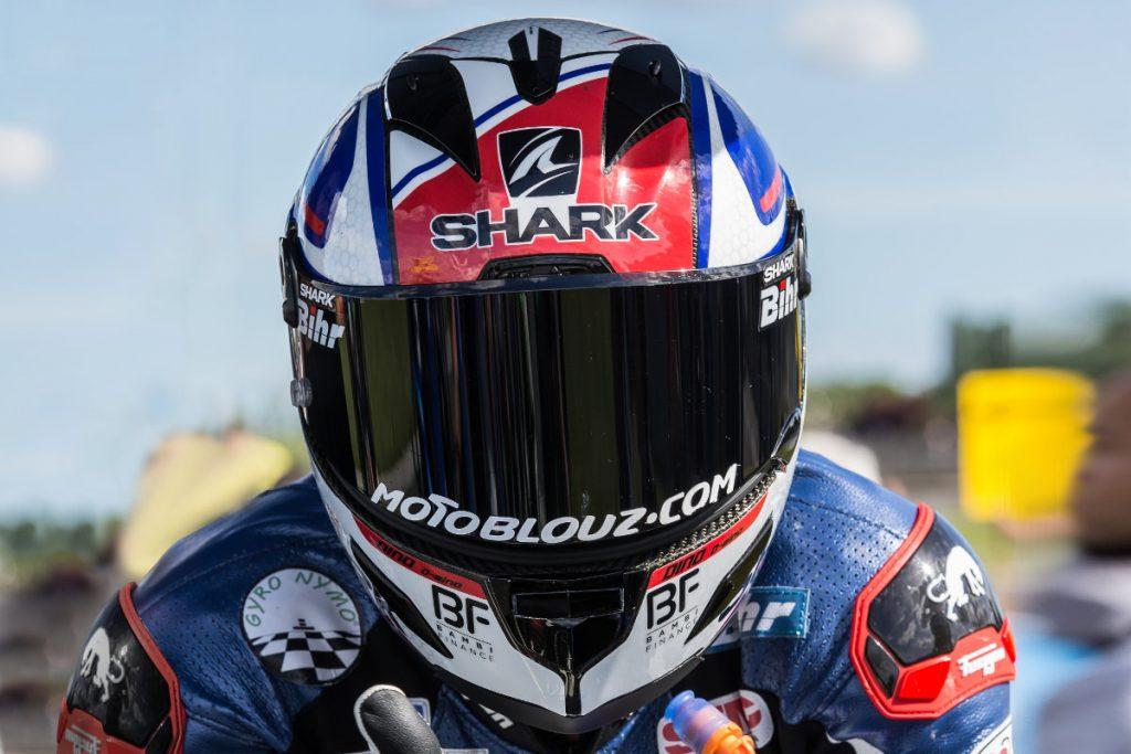 Le Shark Race-R Pro Carbon Skin à l'épreuve de la piste avec Axel Maurin !