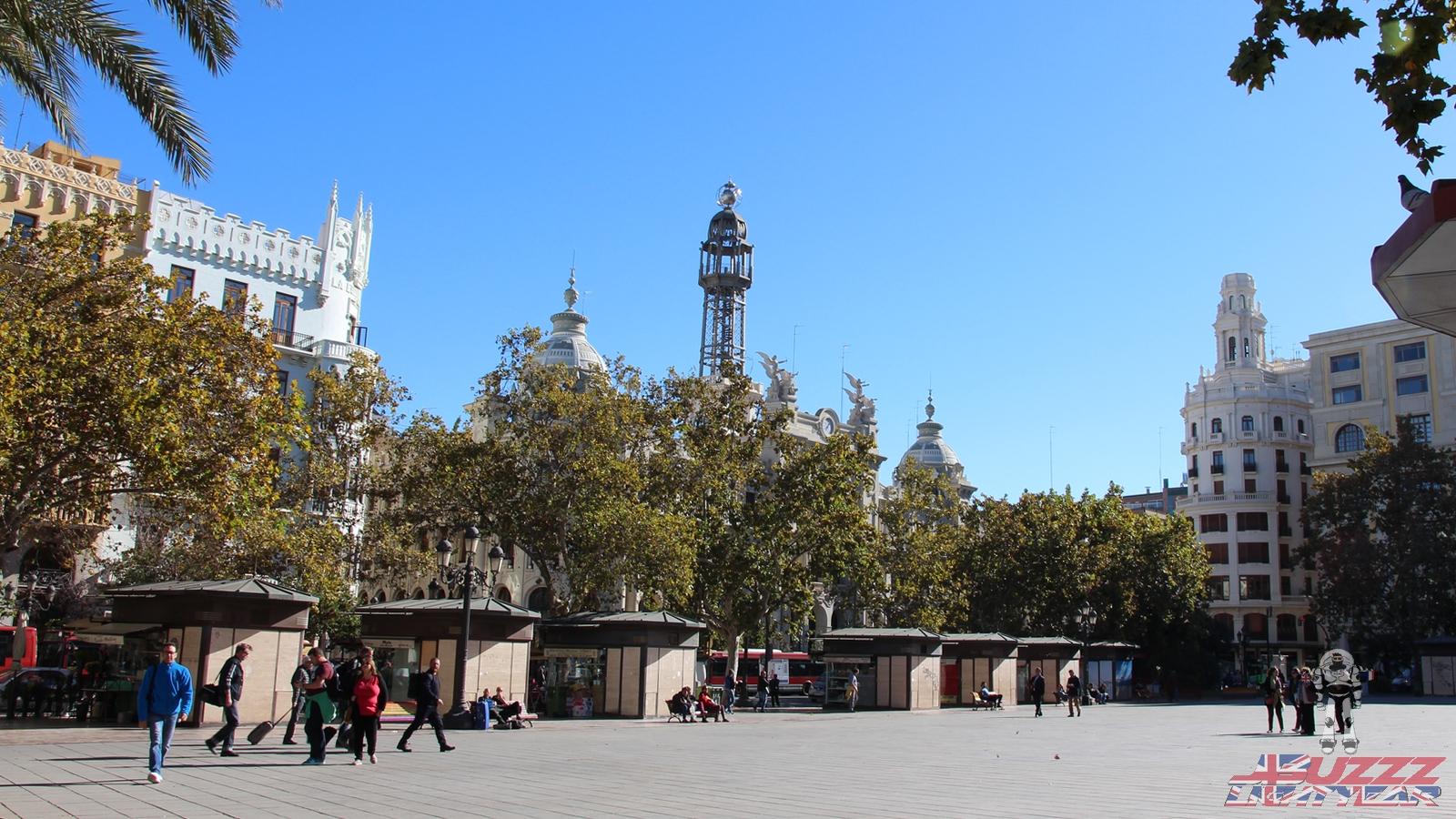 Oui, nous sommes bien début Novembre en plein cœur de Valence!