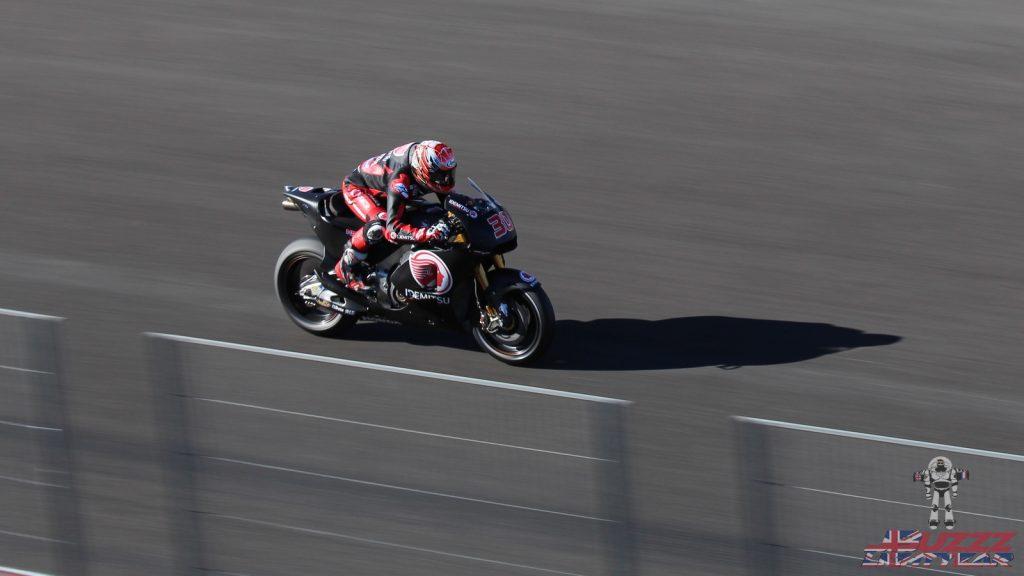 Cette année, Takaaki Nakagami faisait ses grands débuts sur une MotoGP à Valence