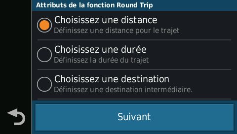 Fonction Round Trip