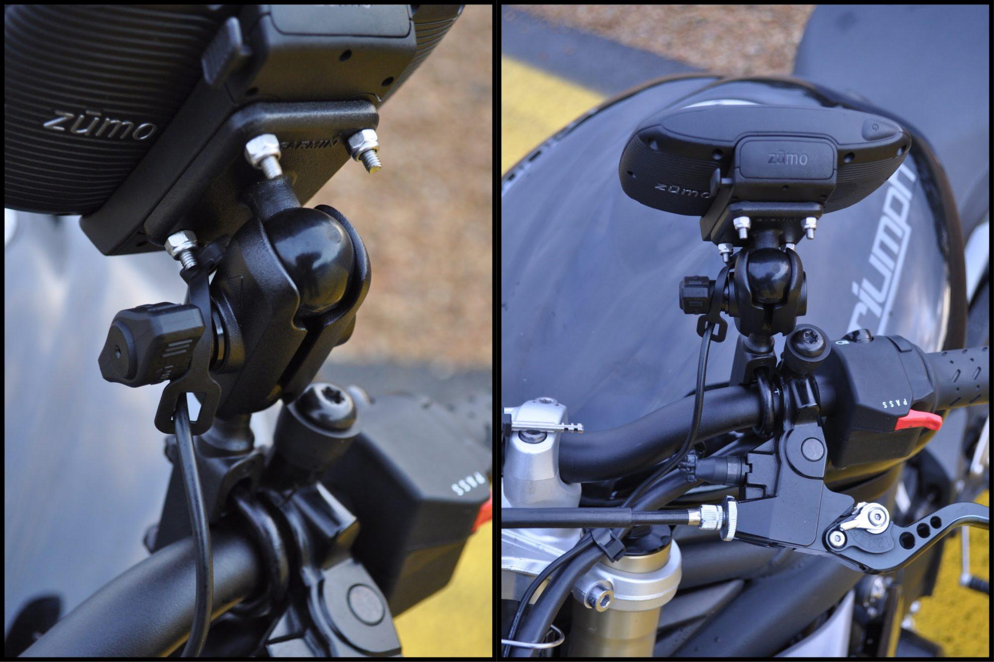 Système RAM mount GPS