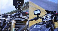 Ecran du GPS Garmin Zumo