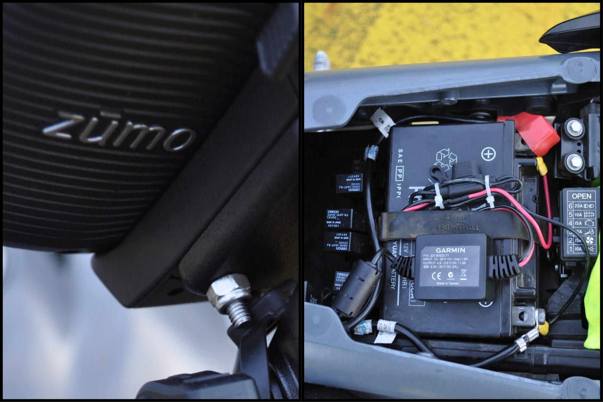 Montage GPS Garmin