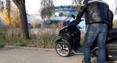 Jean moto Overlap Sturgis