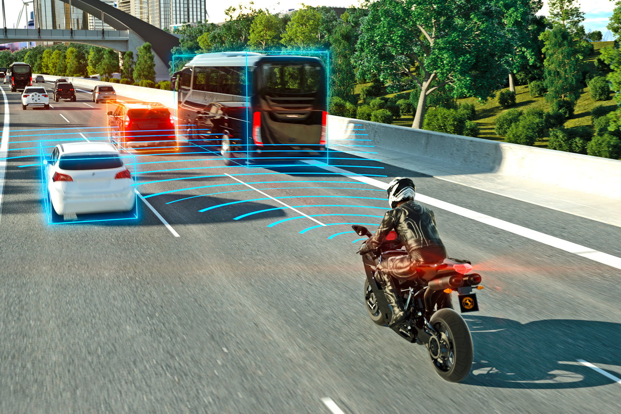 Innocvation moto : Continental Adaptive cruise control