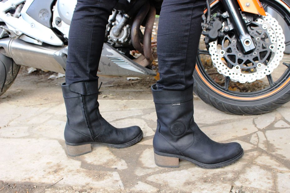 Bottes moto bikeuse · Bottes Falco Ayda