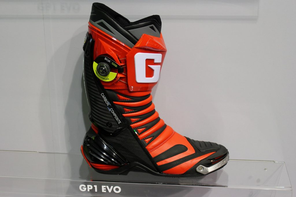 Les bottes racing Gaerne GP1 Evo et leur système de serrage Boa