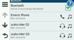 configuration du Bluetooth