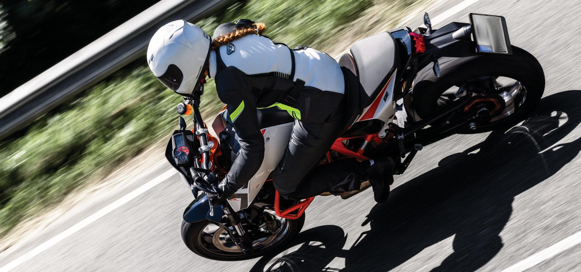 Equipement moto fluo
