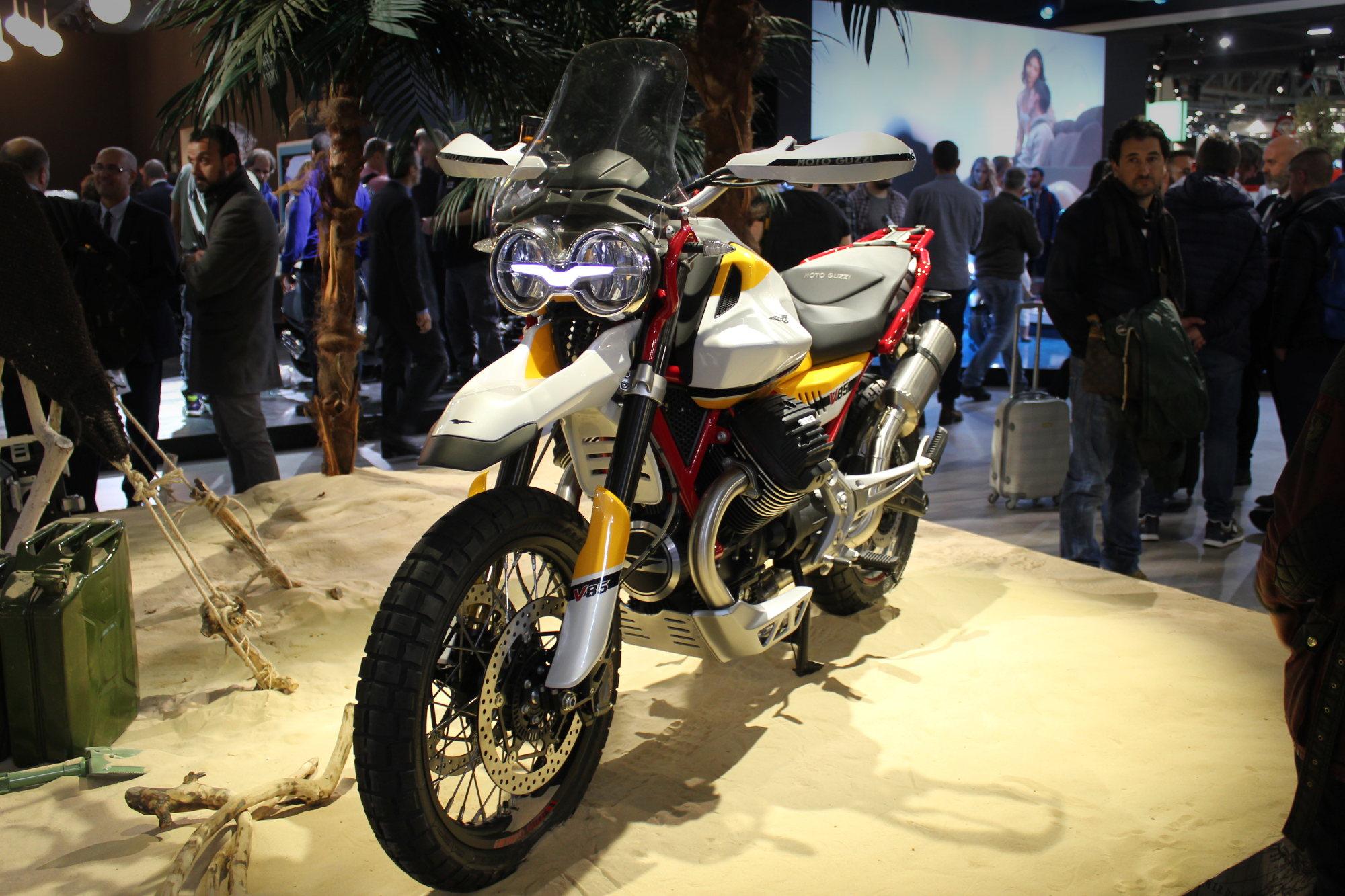 Prototype de la Moto Guzzi V85