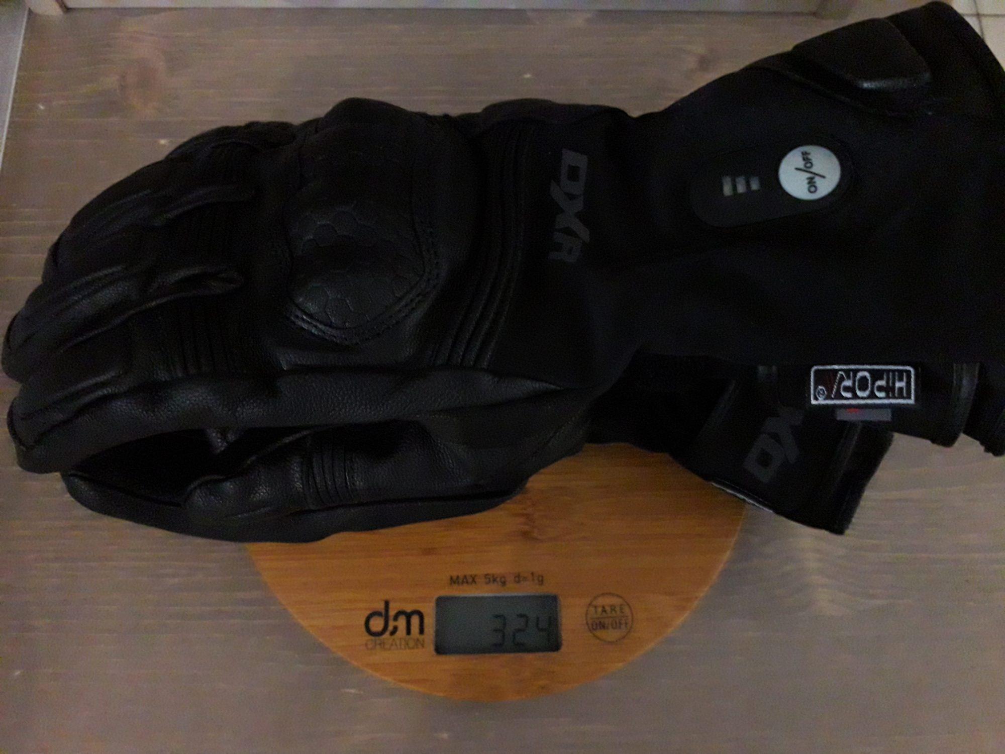 Poids gants chauffants