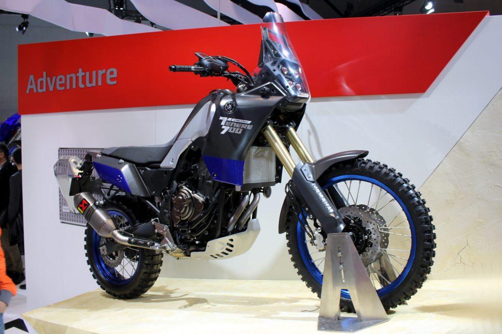 Prototype de la Yamaha Ténéré 700