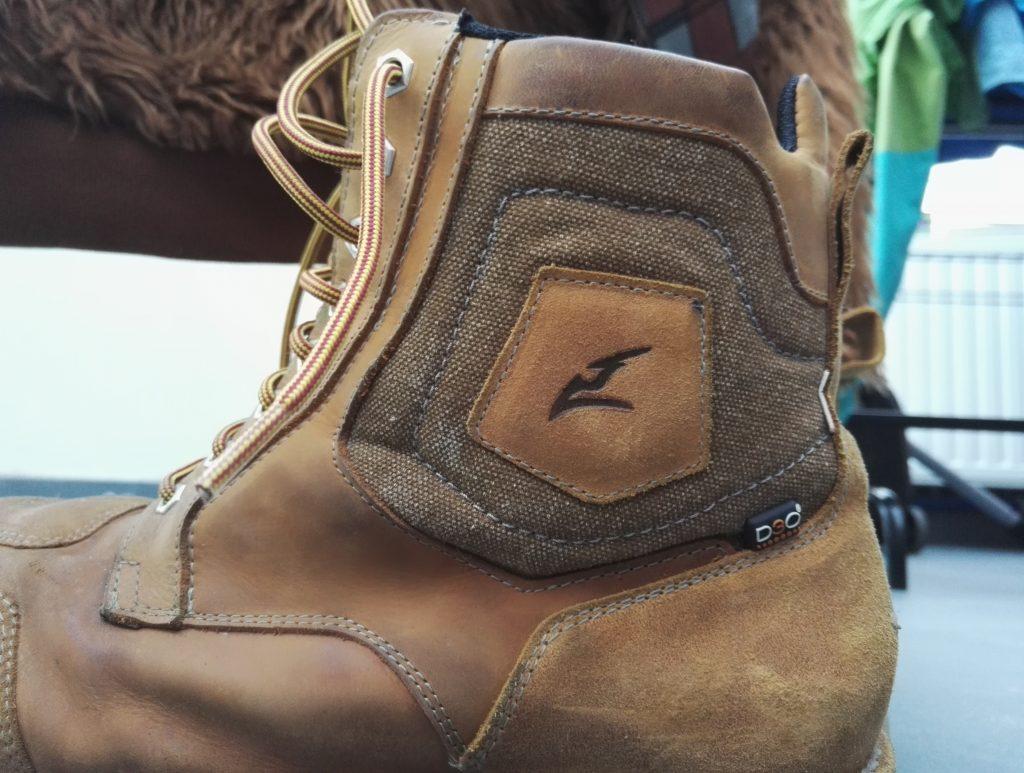 Des inserts D3O – Demi-bottes Falco Ranger