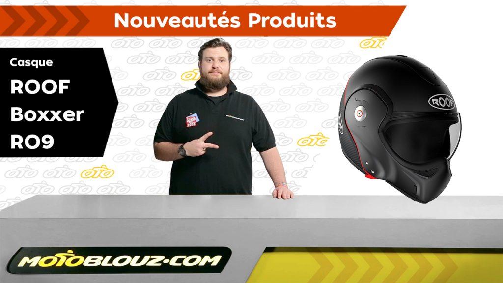Casque ROOF BOXXER Carbon RO9, avis en vidéo par Motoblouz