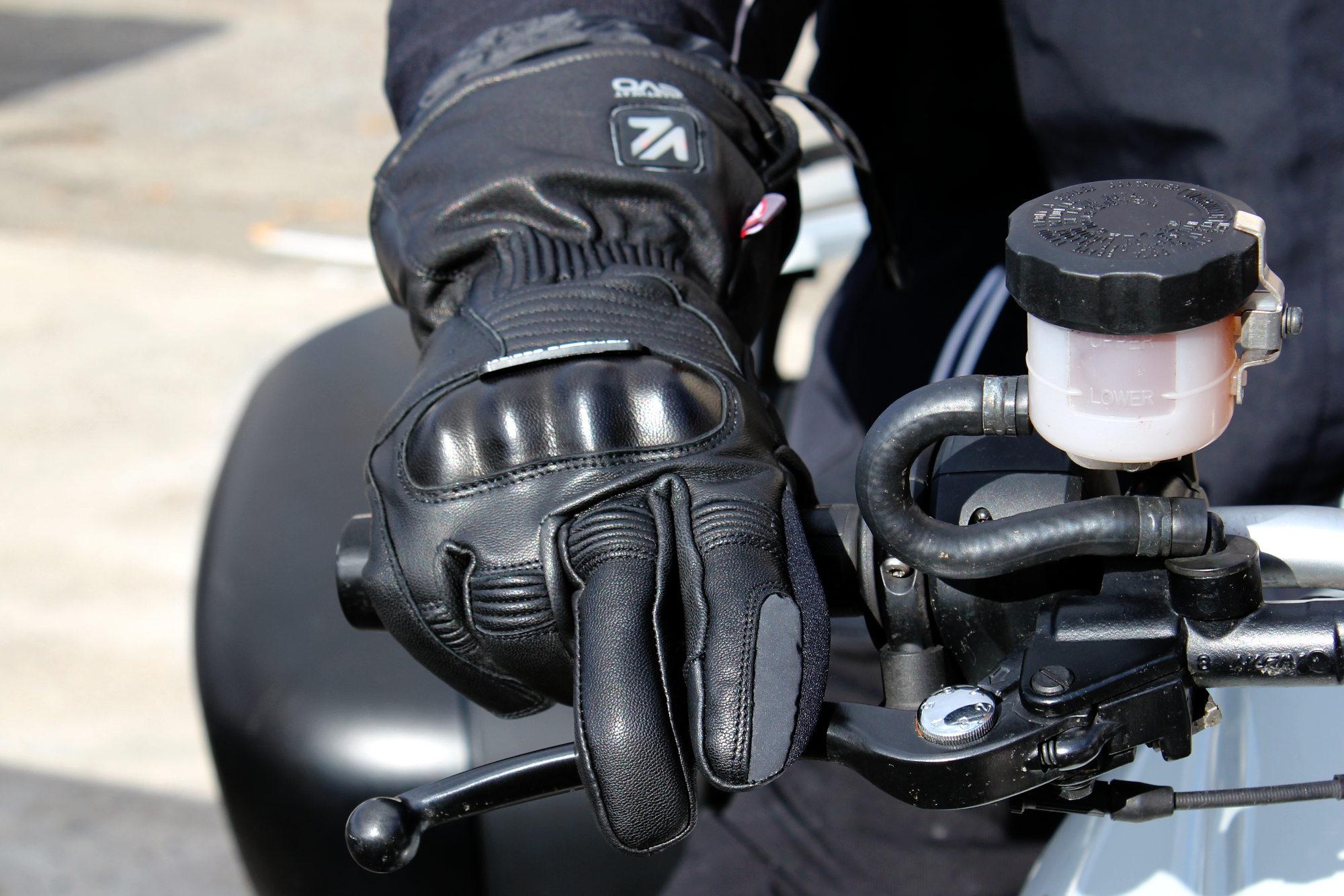 Feeling gants chauffants moto
