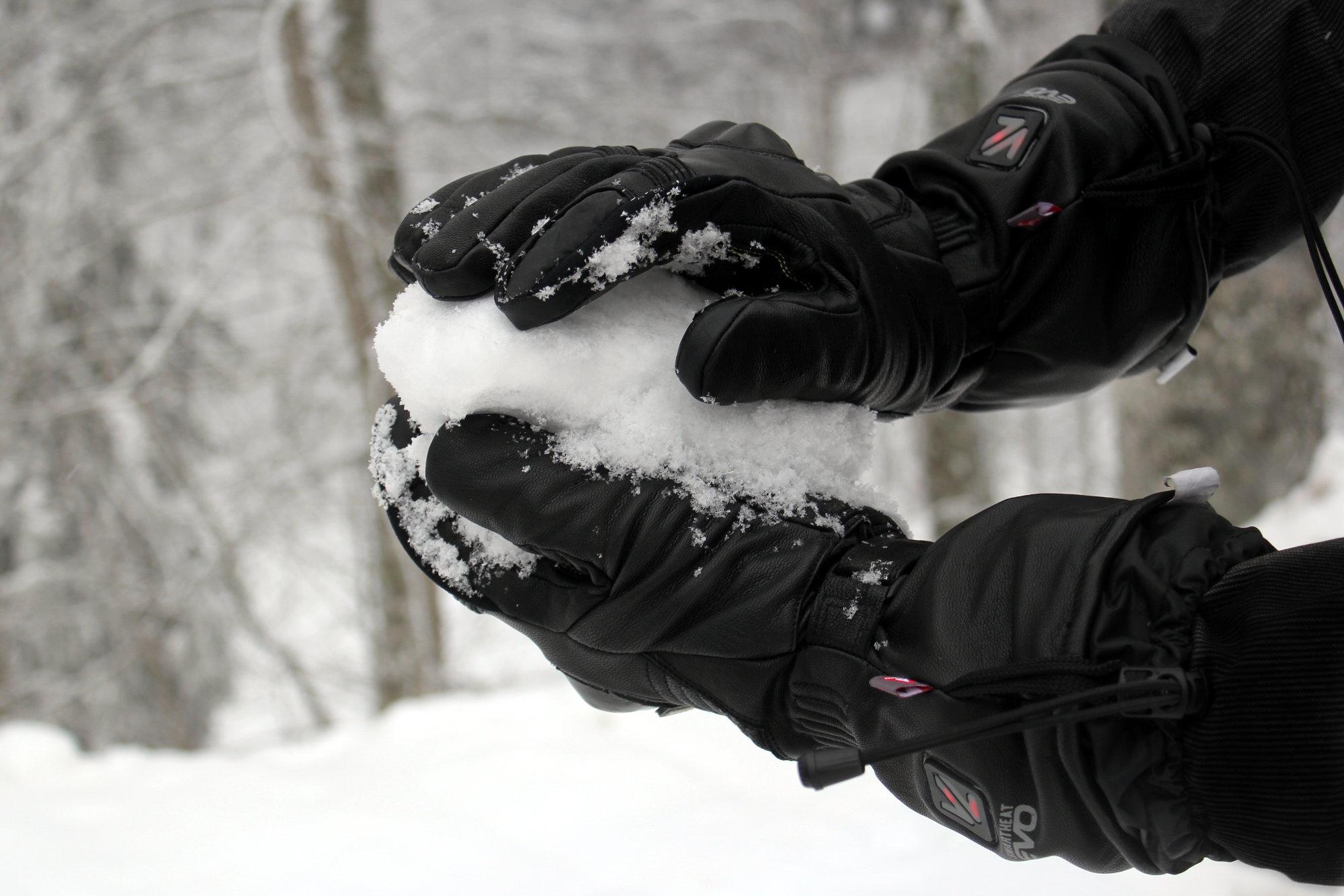 Rouler en hiver avec des gants moto chauffants