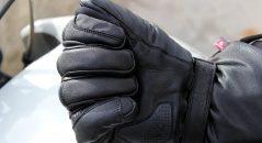 Serrage gants chauffants