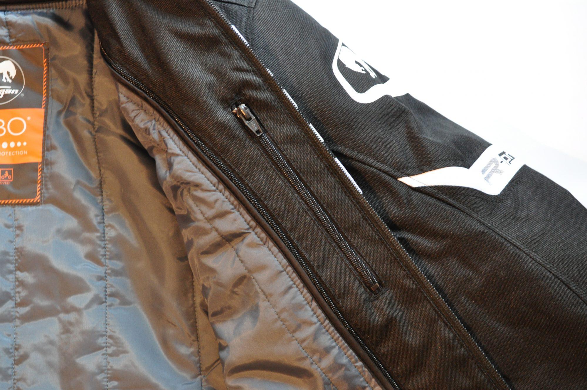 Blouson Furygan ARROW : poche intérieure